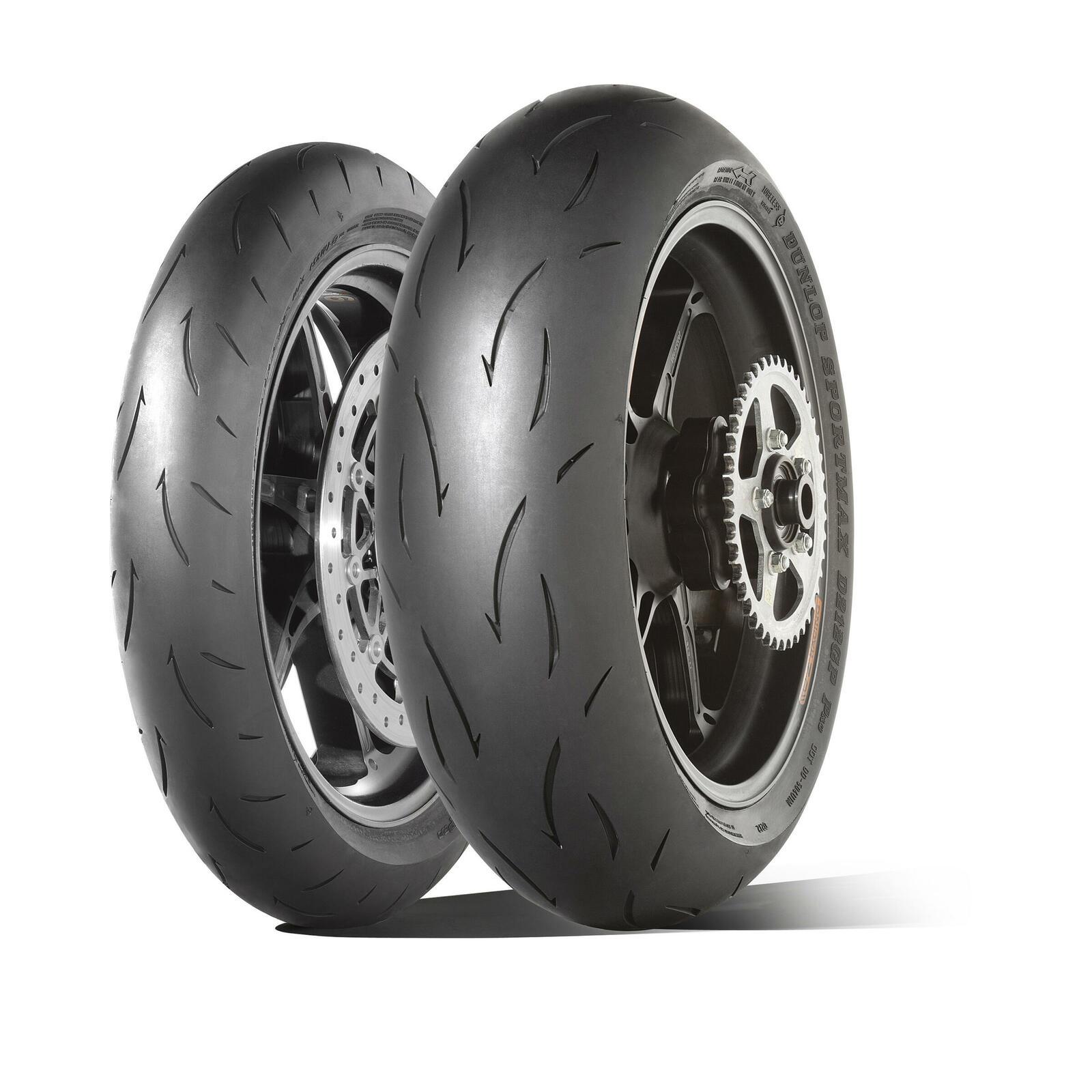 Dunlop präsentiert zwei neue Motorrad-Rennreifen