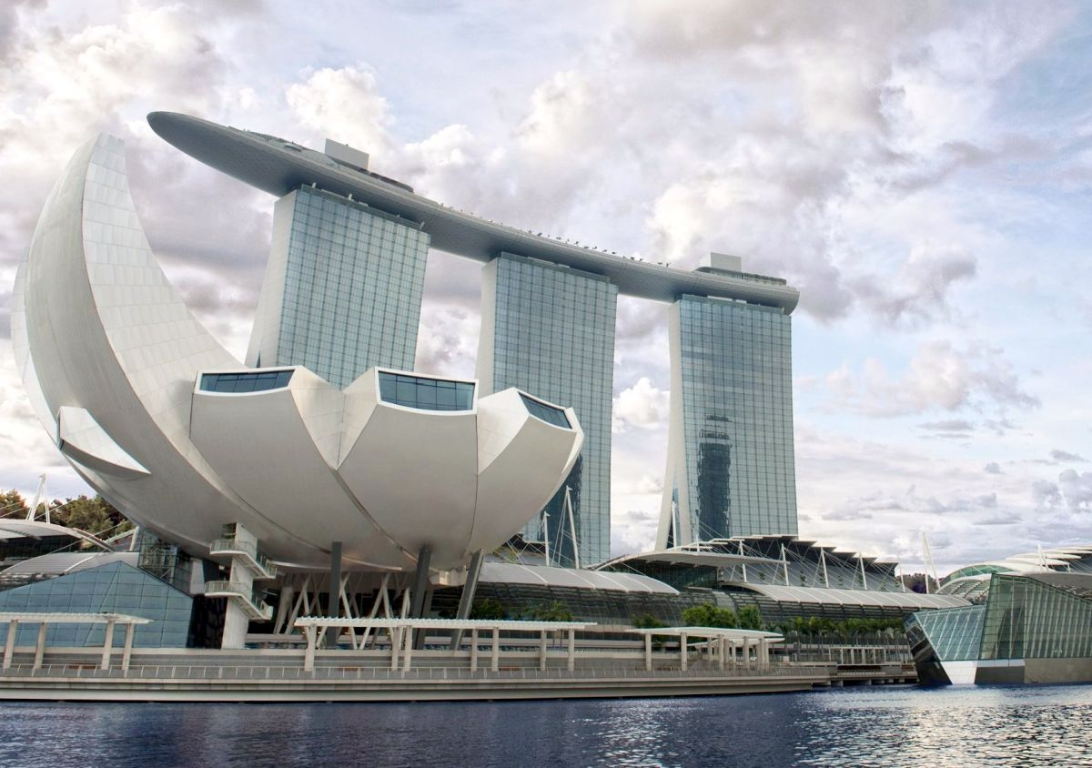 Das Marina Bay Sands Expo and Convention Centre ist Austragungsort der Tyrexpo Asia.